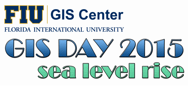 GIS Day 2015: Sea Level Rise