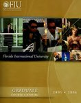 Graduate course catalog (Florida International University). [2005-2006