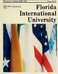 University catalog (Florida International University). [1980-1981]
