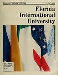 University catalog (Florida International University). [1979-1980]