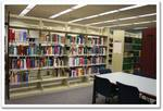 FIU Medical Library Stacks and Study Table