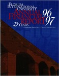 Annual financial report for the fiscal year 1996-1997