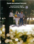 Annual financial report for the fiscal year 1991-1992