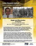 Sugar and Revolution ( A Requiem) , Lecture by Duanel Díaz Infante