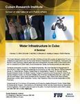 Water Infrastructure in Cuba: A Seminar