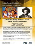 The Cuban Poetry of Alfonso Camín, Father of Afro-Cuban Poetry : Lecture by Victor Puertodan