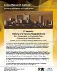 El Vedado: History of a Havana Neighborhood , Book Presentation by Concepcion Otero