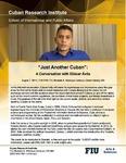 """Just Another Cuban"": A Conversation with Eliécer Ávila"
