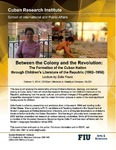 Between the Colony and the Revolution: The Formation of the Cuban Nation through Children's Literature of the Republic (1902-1958}), Lecture by Zeila Frade