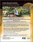 Classically Cuban Concert: Memorias musicales de Cuba / Musical Memories of Cuba with Enrique Chía