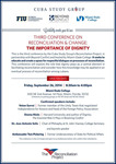 Third Conference on Reconciliation & Change: The Importance of Dignity [Invitation]