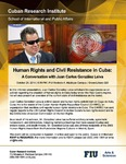 Human Rights and Civil Resistance in Cuba: A Conversation with Juan Carlos González Leiva