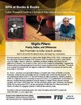 Virgilio Piñera: Poetry, Nation, and Differences, Book Presentation by Author Jesús E. Jambrina