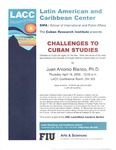 Challenges to Cuban Studies