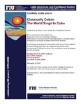 Classically Cuban: The World Sings to Cuba