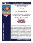 Dr. Lisandro Perez Farewell Party