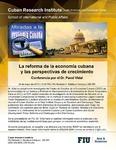 La reforma de la economia cubana y las perspectivas de crecimiento
