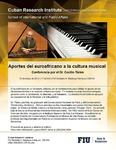 Aportes del euroafricano a Ia cultura musical