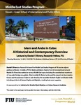 Islam and Arabs in Cuba: A Historical and Contemporary Overview
