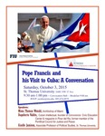 Pope Francis and his Visit to Cuba: A Conversation