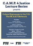 Cuban Espionage in the U.S.: The W.A.S.P. Network