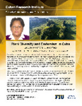 Plan Diversity and Endemism in Cuba- Lecture by Ramona Oviedo Prieto