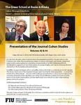 Presentation of the Journal Cuban Studies- Volumes 43 & 44