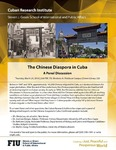 The Chinese Diaspora in Cuba- A Panel Discussion