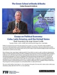 Essays on Political Economy: Cuba, Latin America, and the United States- Book Presentation by Jorge Salazar- Carrillo