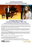 Classically Cuban Concert: A Century of Cuban Music, 1840-1940
