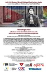Before Night Falls Reflections of the Life of Reinaldo Arenas with Music from Jorge Martin's Opera Before Night Falls