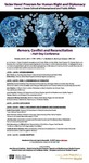 Memory, Conflict and Reconciliation A Half-Day Conference