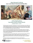 Call for Applications Diaz-Ayala Library Travel Grants