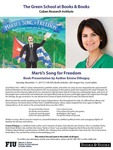 Marti's Song for Freedom: Book Presentation by Author Emma Otheguy