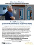 To Build Another House A Documentary about the Art of Humberto Calzada by Eliecer Jimenez Almeida