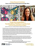 """""""Cargo esta marginalidad...:"""" Transdisciplinary Thinking in Lourdes Casal by Yolanda Martinez-San Miguel"""