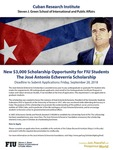 New $3,000 Scholarship Opportunity for FIU Students The Jose Antonio Echeverria Scholarship