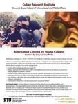 Alternative Cinema by Young Cubans