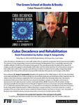 Cuba: Decadence and Rehabilitation by Jorge A. Sanguinetty