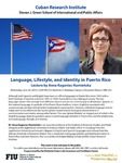 Language, Lifestyle, and Identity in Puerto Rico by Anna Kaganiec-Kamienska