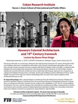 Havana's Colonial Architecture and 19th-Century Ironwork by Ileana Perez Drago