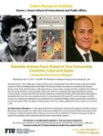 Reinaldo Arenas Faces Power in Two Censorship Contexts: Cuba and Spain: Lecture by Omar Garcia-Obregon
