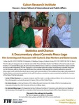 Statistics and Chance: A Documentary about Carmelo Mesa-Lago: Film Screening and Discussion with Carlos D. Diaz Montero and Elaine Acosta