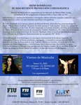 Irene Rodriguez: Su Mas Reciente Proyeccion Coreografica by Cuban Research Institute, Florida International University