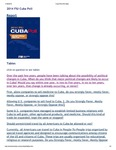 Cuba Poll 2014 : Full Survey Results by Guillermo J. Grenier, Hugh Gladwin, and Cuban Research Institute
