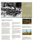 Digital Initiatives Newsletter, Issue 1 by Jill Krefft, Jamie Rogers, and Bryan Cooper