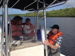 FCE LTER Mid-term Review field trip to Shark River sites