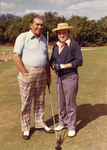 Charles Perry and Man Playing Golf by Florida International University