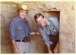 Charles Perry and Nathaniel Reed in Mesa Verde Cave