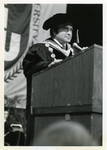 Charles Perry Delivering a Speech at Commencement
